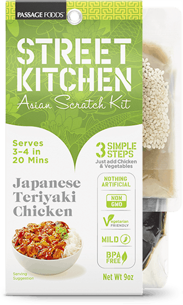 $1.00 for Street Kitchen Dinner Kit (expiring on Thursday, 08/02/2018). Offer available at Walmart.