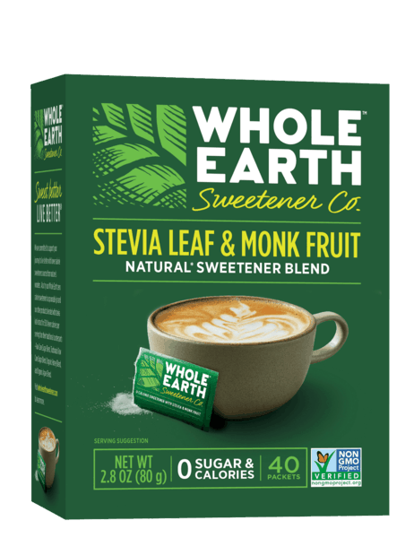 $0.75 for Whole Earth Sweetener® (expiring on Thursday, 08/01/2019). Offer available at multiple stores.