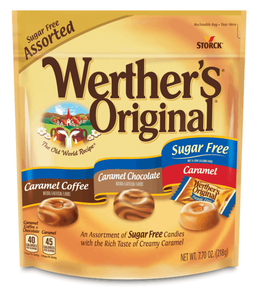 $1.25 for Werther's® Sugar Free (expiring on Monday, 04/15/2019). Offer available at multiple stores.
