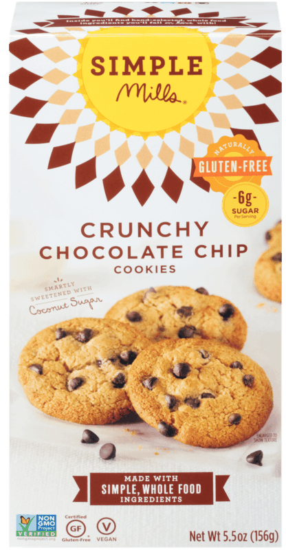 $1.00 for Simple Mills® Cookies (expiring on Monday, 03/02/2020). Offer available at Safeway, Kroger, Albertsons.