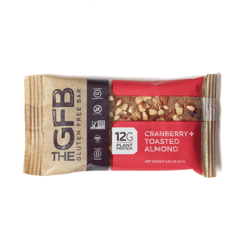 $0.50 for The GFB Gluten Free Protein Bars (expiring on Sunday, 05/24/2020). Offer available at multiple stores.