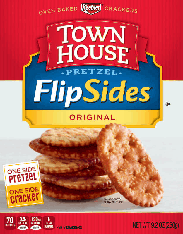 $0.50 for Townhouse® FlipSides® (expiring on Tuesday, 12/31/2019). Offer available at multiple stores.