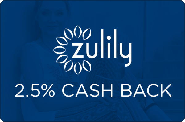 $0.00 for zulily (expiring on Wednesday, 04/03/2019). Offer available at zulily.