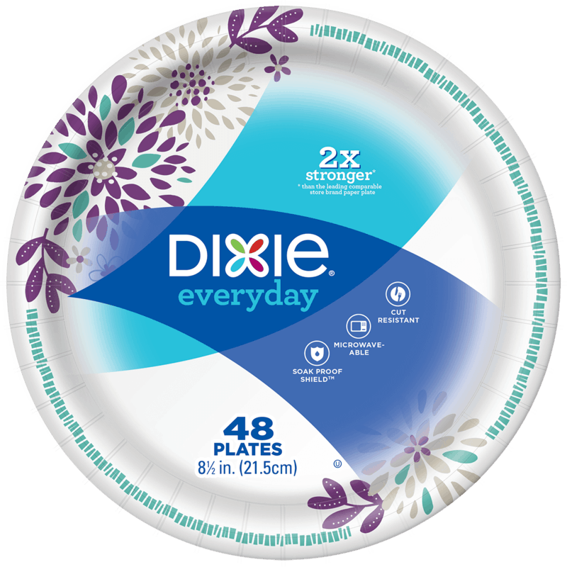 $5.00 for Dixie® Plates or Bowls (expiring on Monday, 03/02/2020). Offer available at multiple stores.