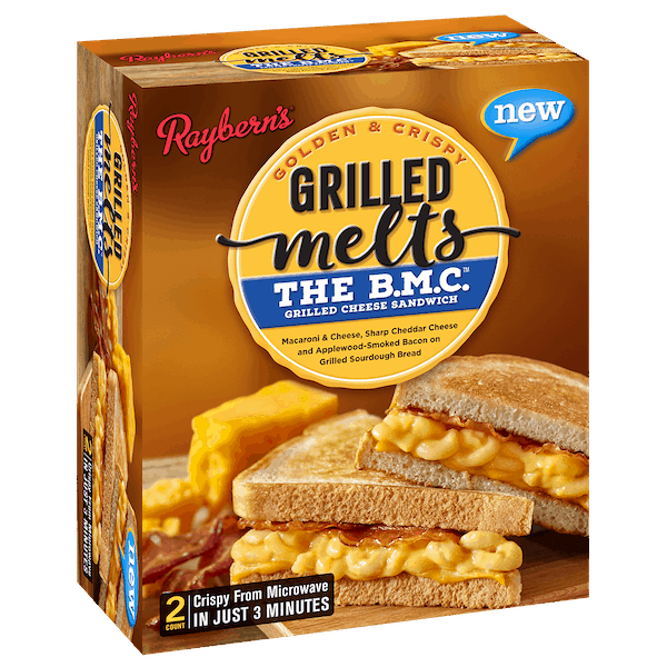 $2.00 for Raybern's™ Grilled Melts. Offer available at Walmart.