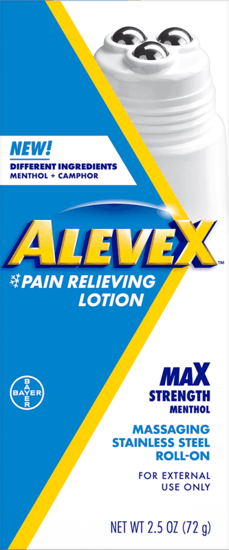 $1.00 for Aleve X Roller Ball (expiring on Monday, 01/31/2022). Offer available at multiple stores.