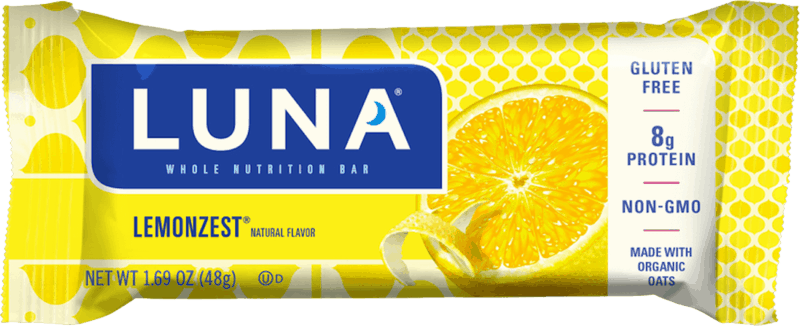 $0.25 for LUNA Bar (expiring on Wednesday, 08/18/2021). Offer available at multiple stores.