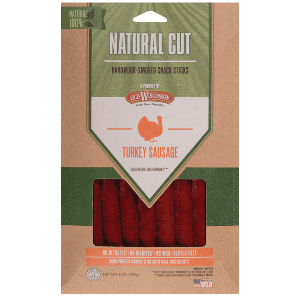 $0.50 for Old Wisconsin® Natural Cut™ (expiring on Tuesday, 06/02/2020). Offer available at Walmart.