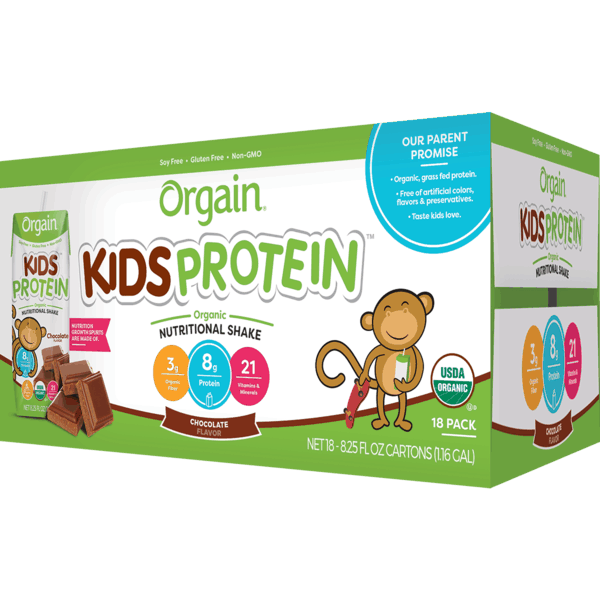 $5.00 for Orgain® Organic Kids Protein Shakes. Offer available at Costco.