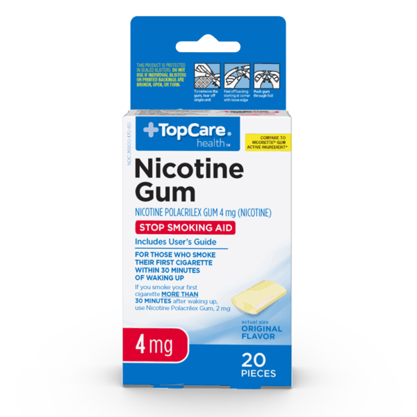 $5.00 for Nicotine Gum (expiring on Thursday, 10/31/2019). Offer available at multiple stores.