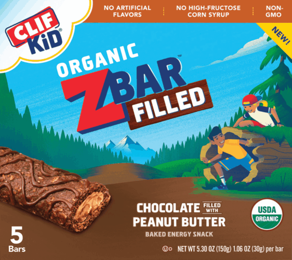 $0.50 for CLIF Kid Zbar Filled (expiring on Tuesday, 10/31/2017). Offer available at Walmart.
