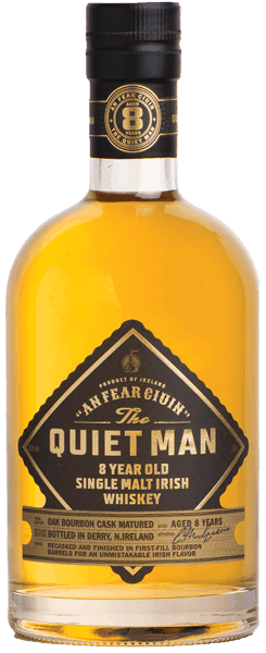 $8.00 for The Quiet Man Single Malt. Offer available at multiple stores.
