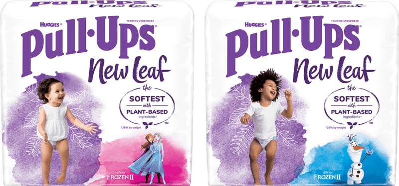 $2.00 for Huggies Pull-Ups New Leaf Training Pants (expiring on Tuesday, 08/10/2021). Offer available at multiple stores.
