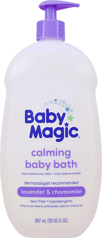 $1.00 for Baby Magic Calming Baby Bath (expiring on Tuesday, 01/25/2022). Offer available at Walmart, Walmart Pickup & Delivery.