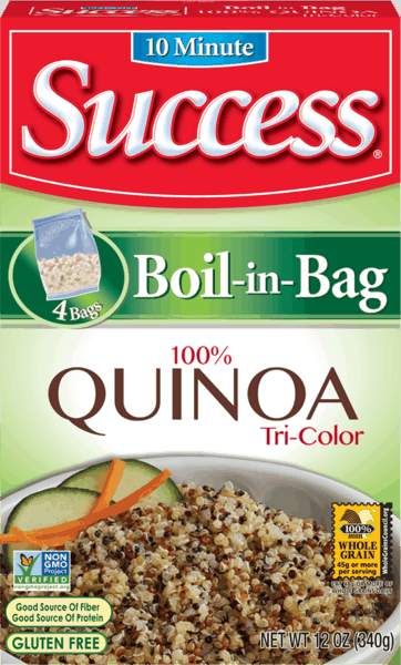 $1.00 for Success® Tri-Colored Quinoa. Offer available at multiple stores.