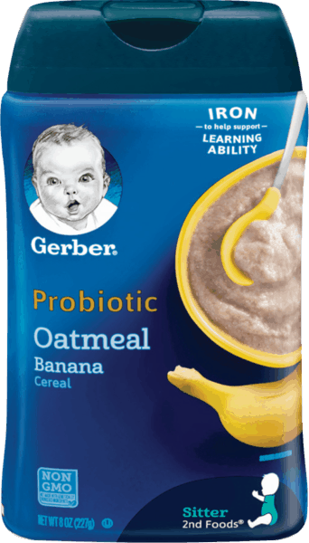 $1.00 for Gerber® Cereal (expiring on Wednesday, 01/02/2019). Offer available at Walmart.