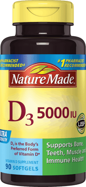 $1.50 for Nature Made® Vitamin D3. Offer available at multiple stores.