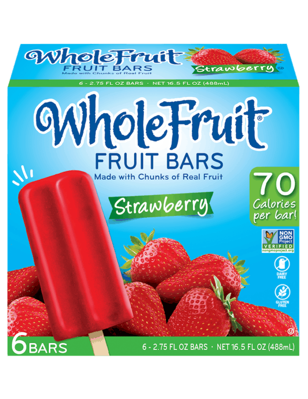 $0.75 for Whole Fruit Fruit Bars (expiring on Saturday, 10/31/2020). Offer available at multiple stores.