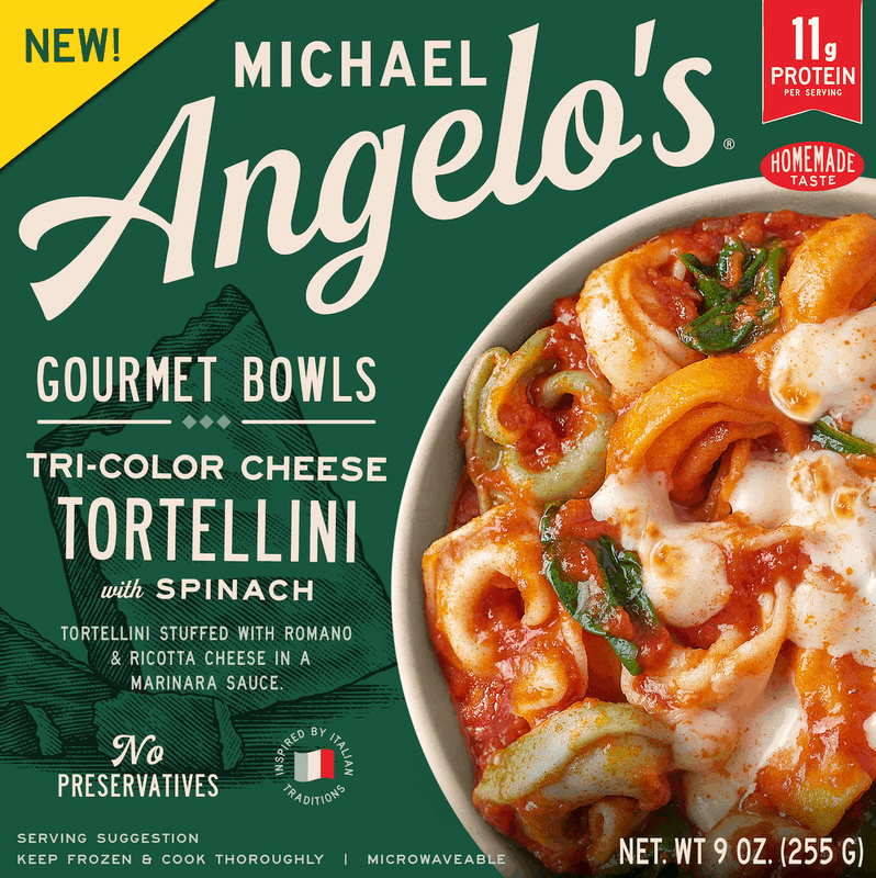 $1.00 for Michael Angelo's Single Serve Gourmet Bowls (expiring on Wednesday, 01/01/2020). Offer available at Walmart.