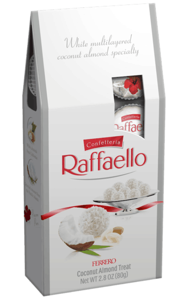 $1.00 for Ferrero Rafaello® Pralines (expiring on Saturday, 03/02/2019). Offer available at Walmart.