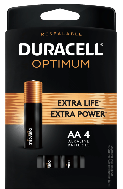 $1.00 for Duracell® Optimum Batteries (expiring on Tuesday, 12/31/2019). Offer available at multiple stores.