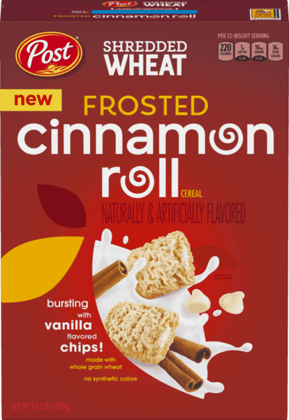$3.00 for Post® Shredded Wheat Cereal. Offer available at Walmart.