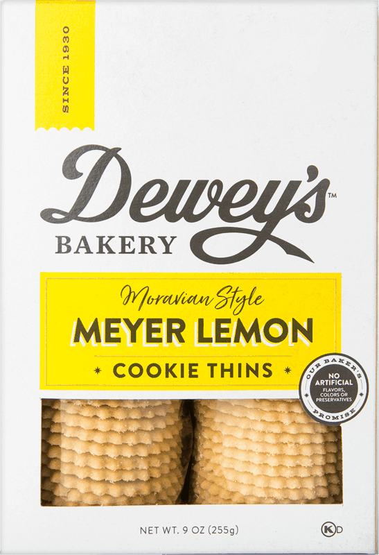 $1.00 for Dewey's Bakery Cookie Thins and Soft Baked Cookies (expiring on Monday, 09/06/2021). Offer available at multiple stores.