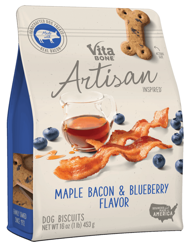 $1.25 for Vita Bone® Artisan Inspired® (expiring on Wednesday, 10/02/2019). Offer available at Walmart, Food Lion.
