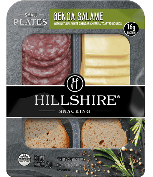 $0.75 for Hillshire® Snacking Small Plates. Offer available at multiple stores.