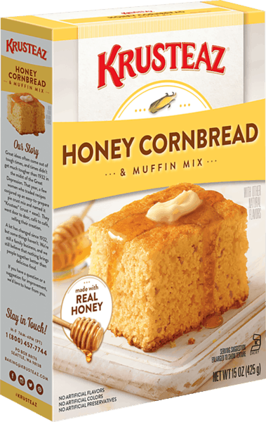 $0.25 for Krusteaz® Cornbread Mix (expiring on Thursday, 05/02/2019). Offer available at Walmart.