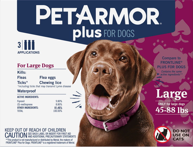 $4.00 for PetArmor® Plus for Dogs (expiring on Thursday, 01/02/2020). Offer available at Target.