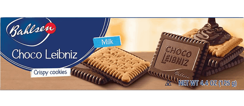 $1.00 for Bahlsen® Choco Leibniz Cookies (expiring on Thursday, 09/17/2020). Offer available at multiple stores.