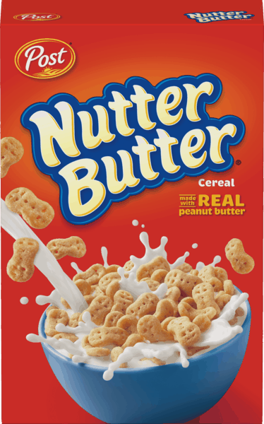 $0.75 for Post® NUTTER BUTTER® Cereal. Offer available at Walmart.