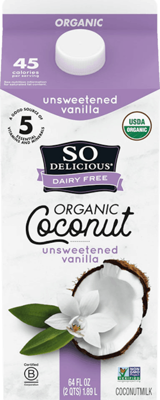 $0.50 for So Delicious Dairy Free Beverage (expiring on Monday, 02/10/2020). Offer available at multiple stores.