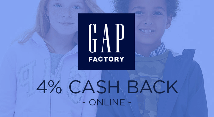 $0.00 for Gap Factory (expiring on Friday, 03/22/2019). Offer available at Gap Factory.
