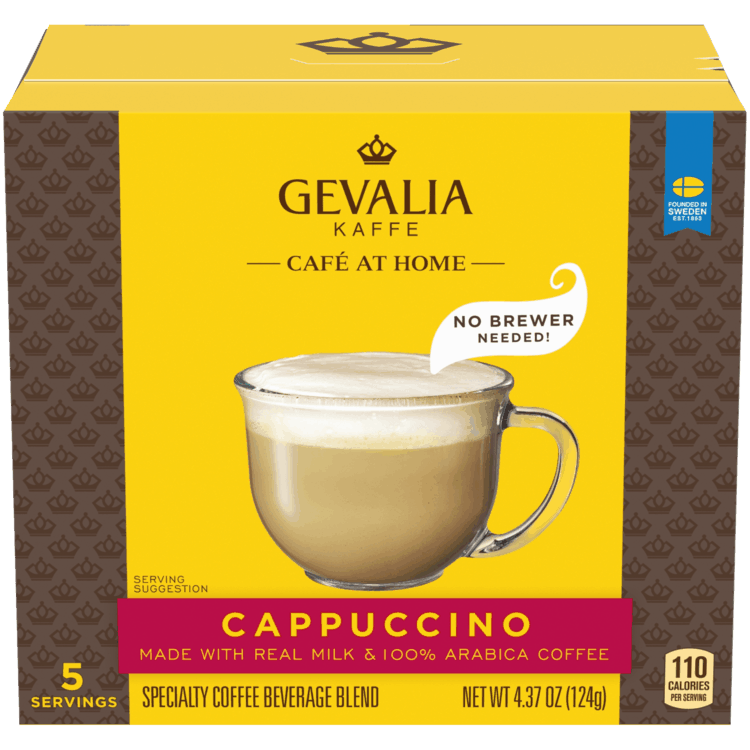 $1.00 for Gevalia Kaffe Café at Home No Brewer Needed. Offer available at multiple stores.