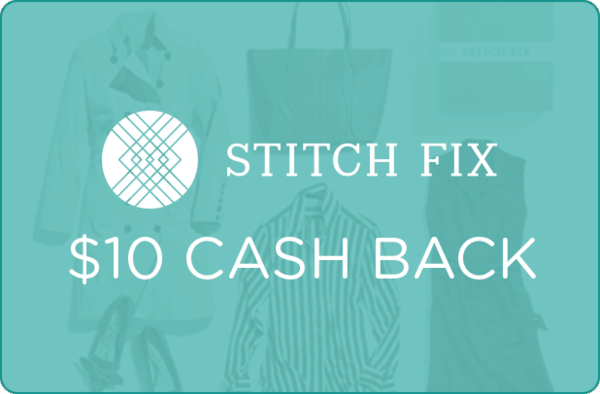$10.00 for Stitch Fix (expiring on Wednesday, 02/12/2020). Offer available at Stitch Fix.