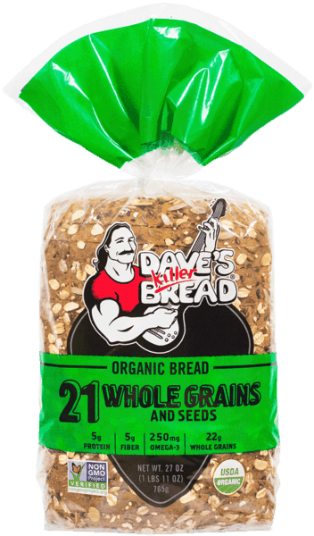 $0.30 for Dave's Killer Bread® (expiring on Sunday, 12/02/2018). Offer available at multiple stores.