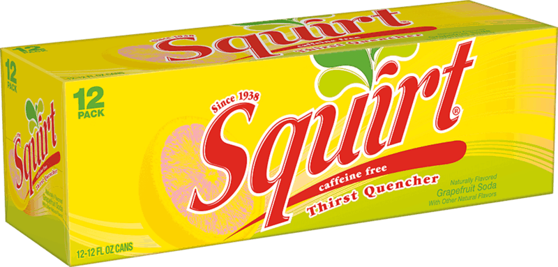 $0.50 for Squirt® Soda (expiring on Saturday, 09/07/2019). Offer available at multiple stores.