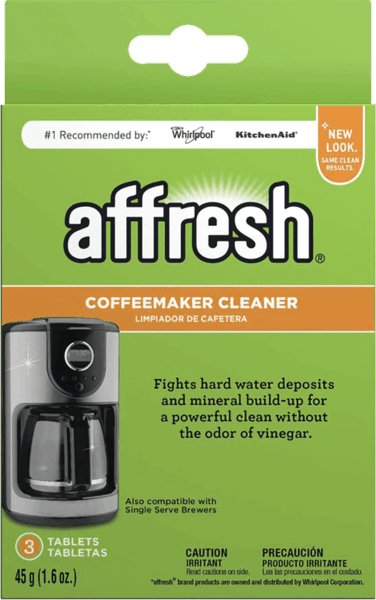 $1.00 for Affresh® Coffeemaker Cleaner (expiring on Monday, 10/30/2017). Offer available at Bed Bath & Beyond.