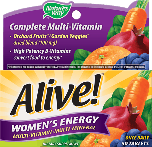 $2.00 for Nature's Way® Alive!® Multi-Vitamins. Offer available at multiple stores.