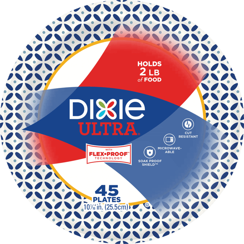 $0.75 for Dixie® Plates or Bowls. Offer available at Walmart.