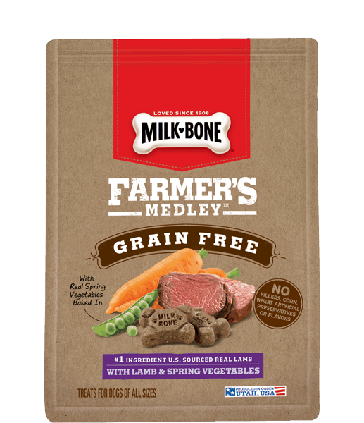 $1.00 for Milk-Bone® Farmer's Medley™ (expiring on Tuesday, 08/15/2017). Offer available at Walmart.