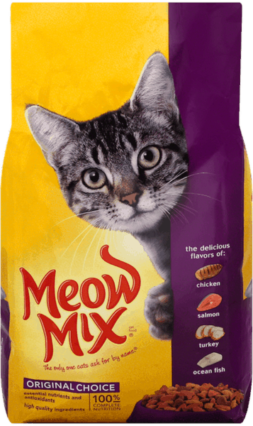 $1.25 for Meow Mix® Dry Cat Food (expiring on Saturday, 02/02/2019). Offer available at Dollar General.