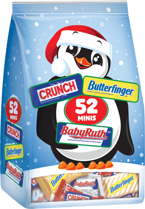 $0.25 for Assorted Butterfinger, Crunch and Baby Ruth Holiday Minis (expiring on Thursday, 07/02/2020). Offer available at multiple stores.