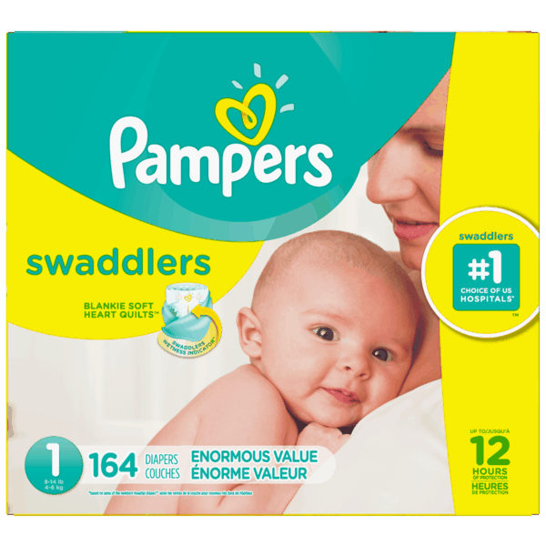 $3.00 for Pampers® Swaddlers™ (expiring on Saturday, 09/29/2018). Offer available at Walmart.