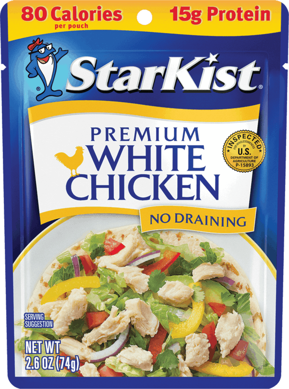 $0.75 for StarKist Premium White Chicken (expiring on Friday, 08/06/2021). Offer available at multiple stores.
