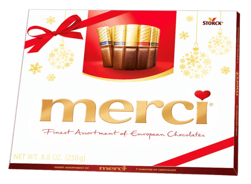 $1.50 for merci Holiday Assorted Chocolate Box (expiring on Monday, 05/31/2021). Offer available at Walmart, Walmart Pickup & Delivery.
