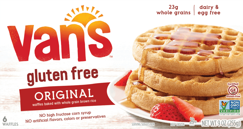 $1.00 for Vans™ Gluten Free Waffles (expiring on Tuesday, 12/10/2019). Offer available at Walmart.