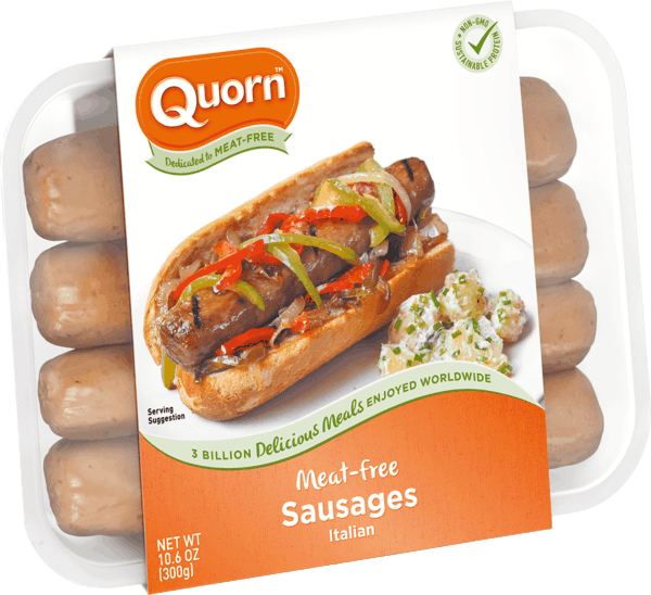 $0.75 for Quorn™ Meatless Italian Sausage (expiring on Thursday, 01/31/2019). Offer available at multiple stores.